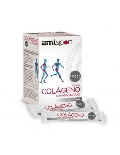 COLÁGENO con Magnesio + Vitamina C AML Sport