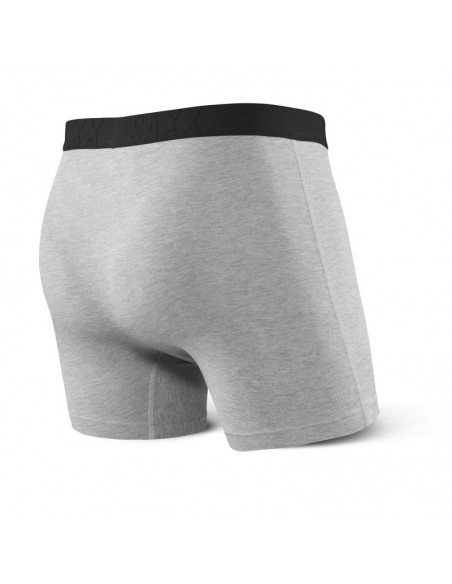 Calzoncillos Hombre SAXX Undercover Boxer Brief Grey Heather