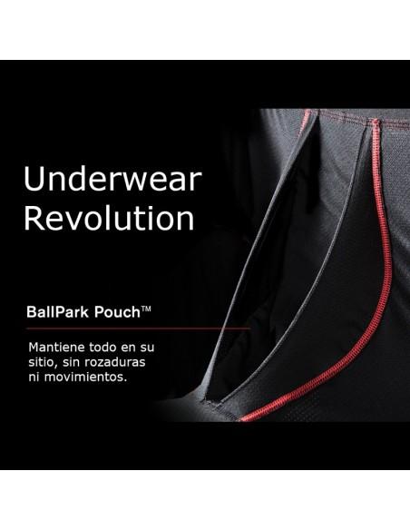 Pantalón corto deporte SAXX Kinetic Black