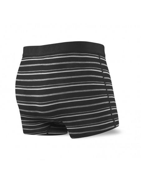 Calzoncillos Hombre SAXX Vibe Trunk Black Coast Stripe