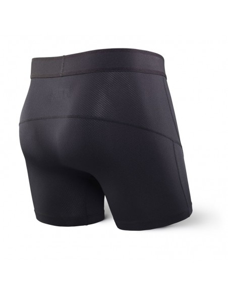 Calzoncillos SAXX Kinetic Boxer Brief Blackout