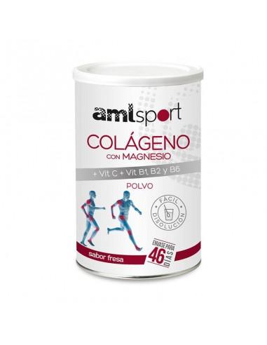 Colágeno con Magnesio + Vit. C + Vit. B1, B2 y B6 AML Sport