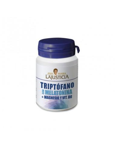Triptófano con Melatonina + Magnesio + B6 Comprimidos