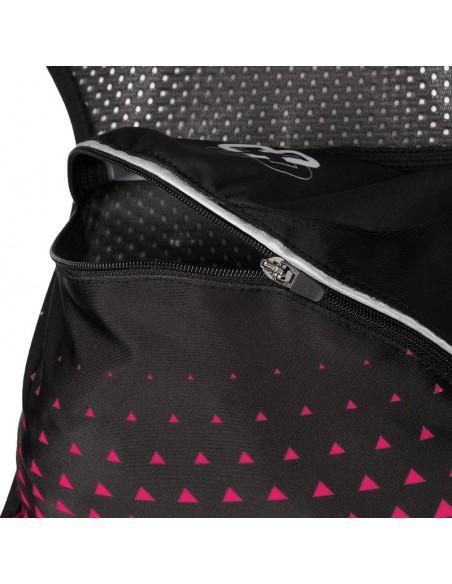 Chaleco de hidratación para Trail Running Arch Max color rosa bolsillo trasero