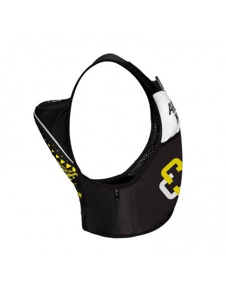 Chaleco de hidratación para Trail Running Arch Max color amarillo