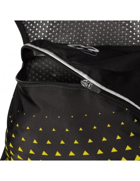 Chaleco de hidratación para Trail Running Arch Max color amarillo bolsillo trasero