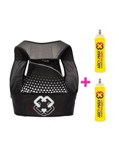 Chaleco de hidratación para Trail Running Arch Max color negro