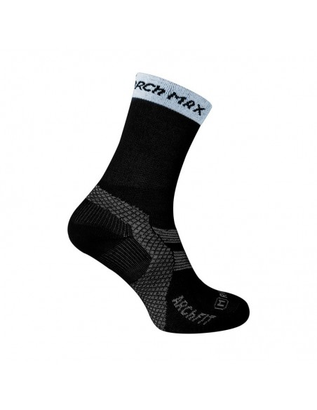 Calcetines media caña ARCh MAX Trail Running de color negro