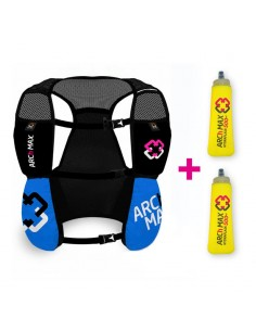 Chaleco de hidratación 4.5 litros para Trail Running Arch Max color azul