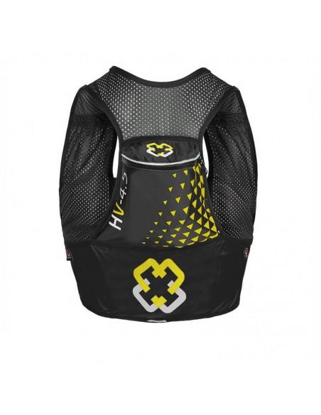 Chaleco de hidratación 4.5 litros para Trail Running Arch Max color negro bolsillo trasero