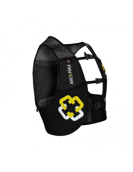 Chaleco de hidratación 4.5 litros para Trail Running Arch Max color negro