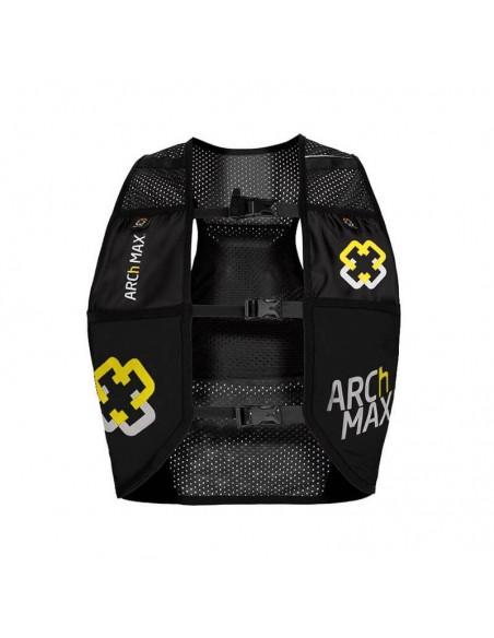 Chaleco de hidratación 4.5 litros para Trail Running Arch Max color negro frontal