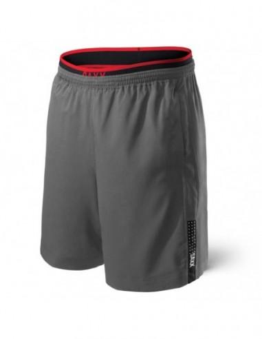 Pantalón deporte SAXX Kinetic Train Gris/rojo