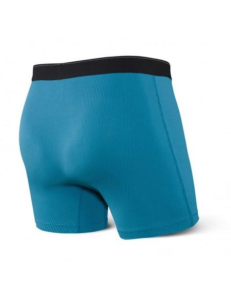 Ropa interior hombre SAXX Quest trasero Azul turquesa