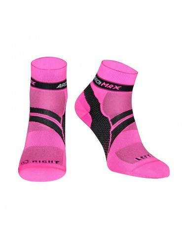 Calcetines Running ARCh MAX ARChFIT Ungravity de color rosa